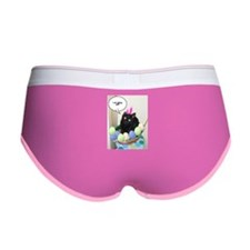 Happy Easter Black Cat Women's Boy Brief