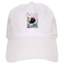 Happy Easter Black Cat Baseball Cap