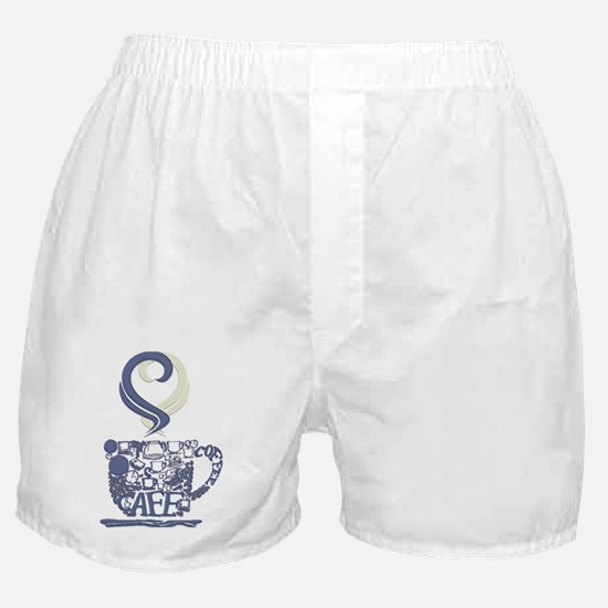 Coffee Cup Art Boxer Shorts
