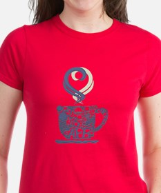 Coffee Cup Art T-Shirt
