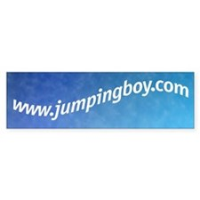 jumpingboy bumper sticker