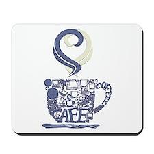 Coffee Cup Art Mousepad