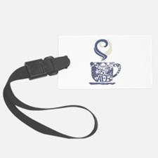 Coffee Cup Art Luggage Tag