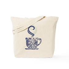 Coffee Cup Art Tote Bag