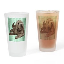 otterhound Drinking Glass