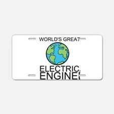 Worlds Greatest Electrical Engineer Aluminum Licen