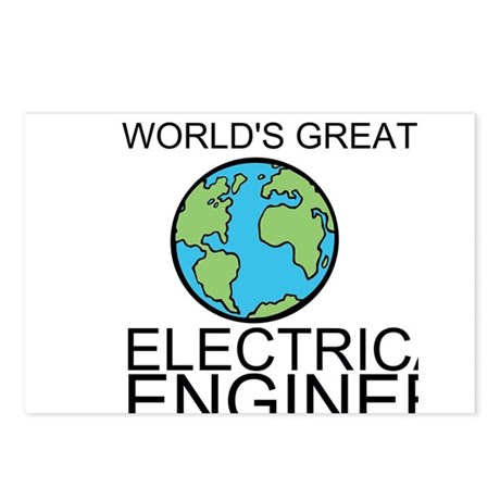 Worlds Greatest Electrical Engineer Postcards (Pac
