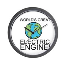 Worlds Greatest Electrical Engineer Wall Clock