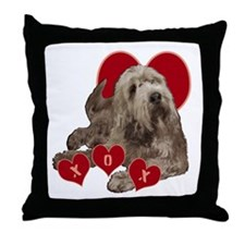 otterhound Throw Pillow