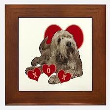 otterhound Framed Tile
