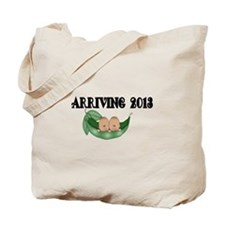 Arriving 2013-African American twins Tote Bag