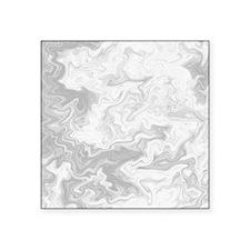 Gray Swirly Pattern. Sticker
