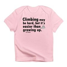 'Climbing Quote' Infant T-Shirt