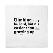 'Climbing Quote' Queen Duvet