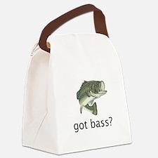got bass 1.jpg Canvas Lunch Bag