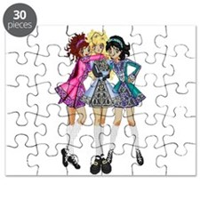 Cute Irish dancer Puzzle