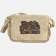 Worlds Greatest Terrance Messenger Bag