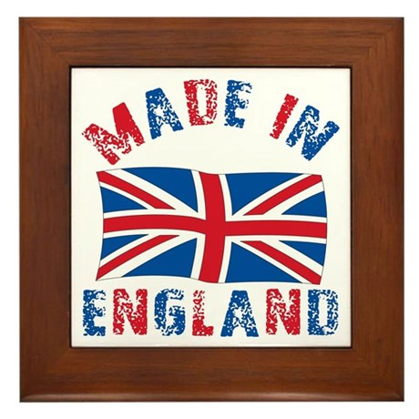 Made In England Framed Tile