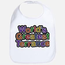 Worlds Greatest Terrance Baby Bib