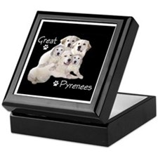 Great Pyrenees Gang Keepsake Box
