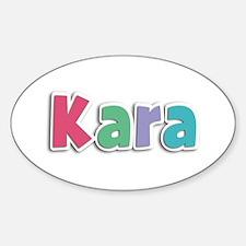 Kara Spring11G Oval Decal