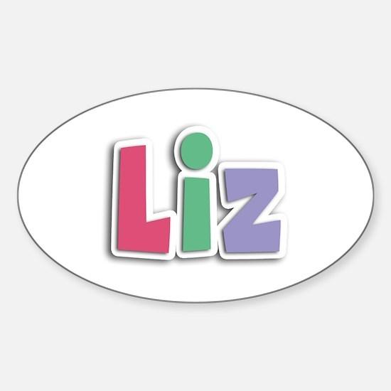 Liz Spring11G Oval Decal