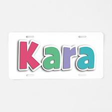 Kara Spring11G Aluminum License Plate