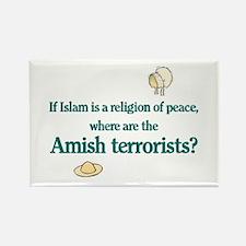 Amish Terrorists Rectangle Magnet