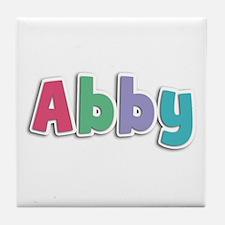 Abby Spring11G Tile Coaster
