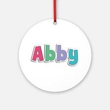 Abby Spring11G Round Ornament