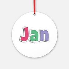 Jan Spring11G Round Ornament