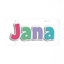 Jana Spring11G Aluminum License Plate