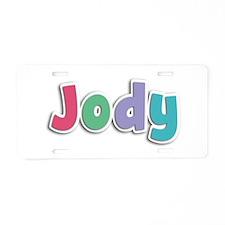 Jody Spring11G Aluminum License Plate