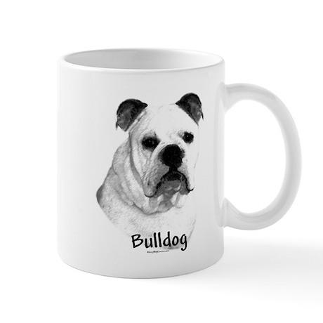 Bulldog Charcoal Mug