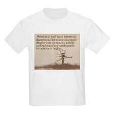 """WWI """"Plane in a Tree"""" T-Shirt"""