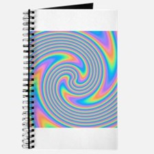 Colorful Swirl Design. Journal