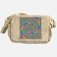 Colorful Swirl Design. Messenger Bag