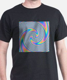 Colorful Swirl Design. T-Shirt