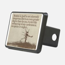 "WWI ""Plane in a Tree"" Hitch Cover"