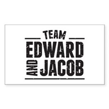 Team Edward and Jacob Decal