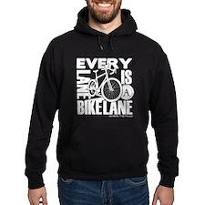 Every Lane Is A Bike Lane Hoodie