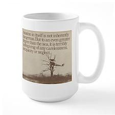 "WWI ""Plane in a Tree"" Mug"