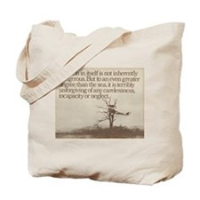 """WWI """"Plane in a Tree"""" Tote Bag"""