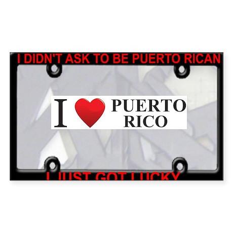 I Heart Puerto Rico Sticker