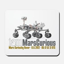 I AM Mars Curious Mousepad