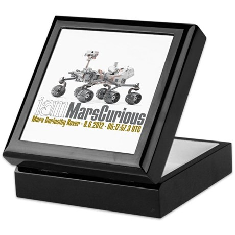 I AM Mars Curious Keepsake Box