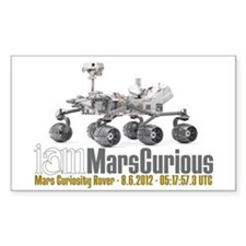 I AM Mars Curious Decal