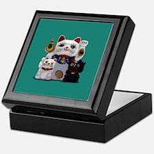Japanese Fortune Cat Keepsake Box Keepsake Box