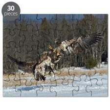 Fighting Immature Eagles Puzzle