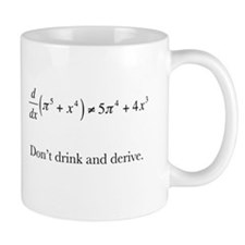 Dont drink and derive.jpg Small Small Mug